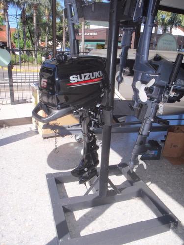motor fuera de borda suzuki 6 hp 4 tiempos pata corta