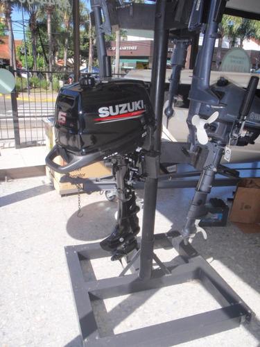 motor fuera de borda suzuki 6 hp pata larga, 4 tiempos