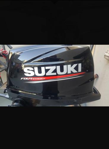 motor fuera de borda suzuki 6hp 4t patalarga  nuevo