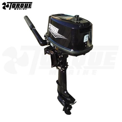 motor fuera de borda torque marine 6 hp 2t pata corta