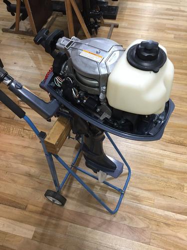 motor fuera de borda yamaha 5 hp 2t impecable usado 2015