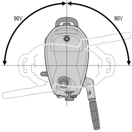 motor fuera de borda yamaha 6hp 4 tiempos - nautica ramirez