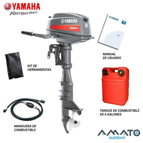 motor fuera de borda yamaha 8 hp 2t enduro consulta oferta