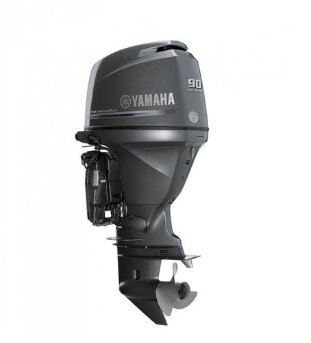 motor fuera de borda yamaha f90hp, 4t, inyección electrónica