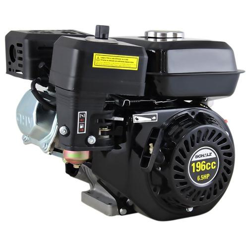 motor gasolina 6.5hp 196cc 4t schulz mgs + rabeta luxo 1,5m