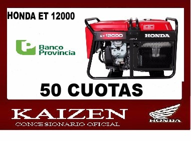motor generador  honda et 12000 11 kva
