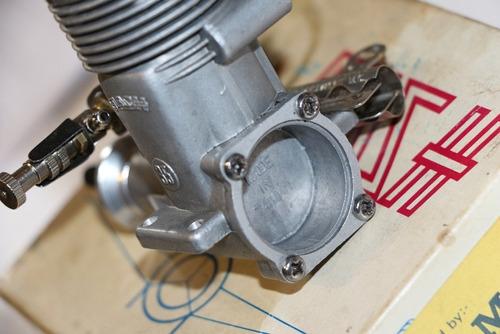 motor glow flash s l h  .35  r / c  - vintage -  raridade !!