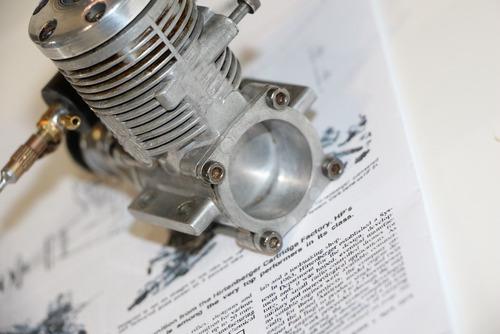 motor glow hirtenberger patronen .40 f  - r / c - seminovo.
