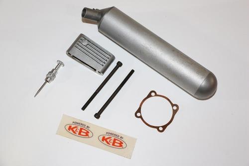 motor glow k & b .45 sportster r / c n. i . b. - new in box