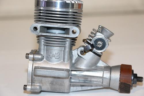 motor glow k & b .65 sportster-  r  c - schnuerle- n i b - !