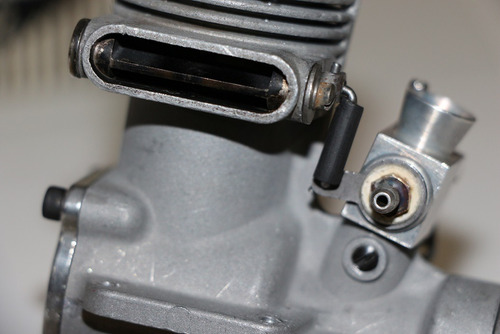 motor glow v e c o .45 - series 200- r / c seminovo