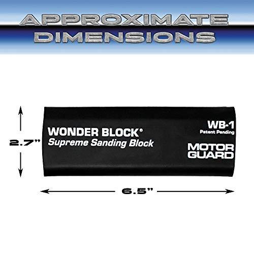 motor guard wb-1 wonder block supreme sanding block