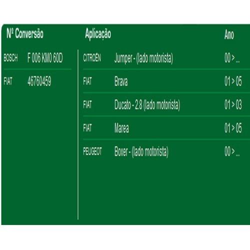 motor helice ventoinha radiador marea 2001 a 2005 bauen 459
