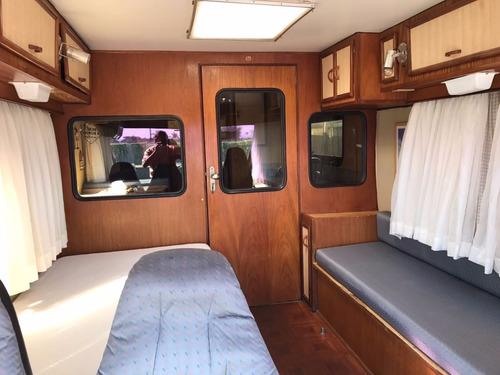 motor- home itapoã aconcágua 1982 - itu trailer - motor home