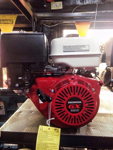motor honda gx390 gasolina, 4 tiempos, ohv, monolicindrico