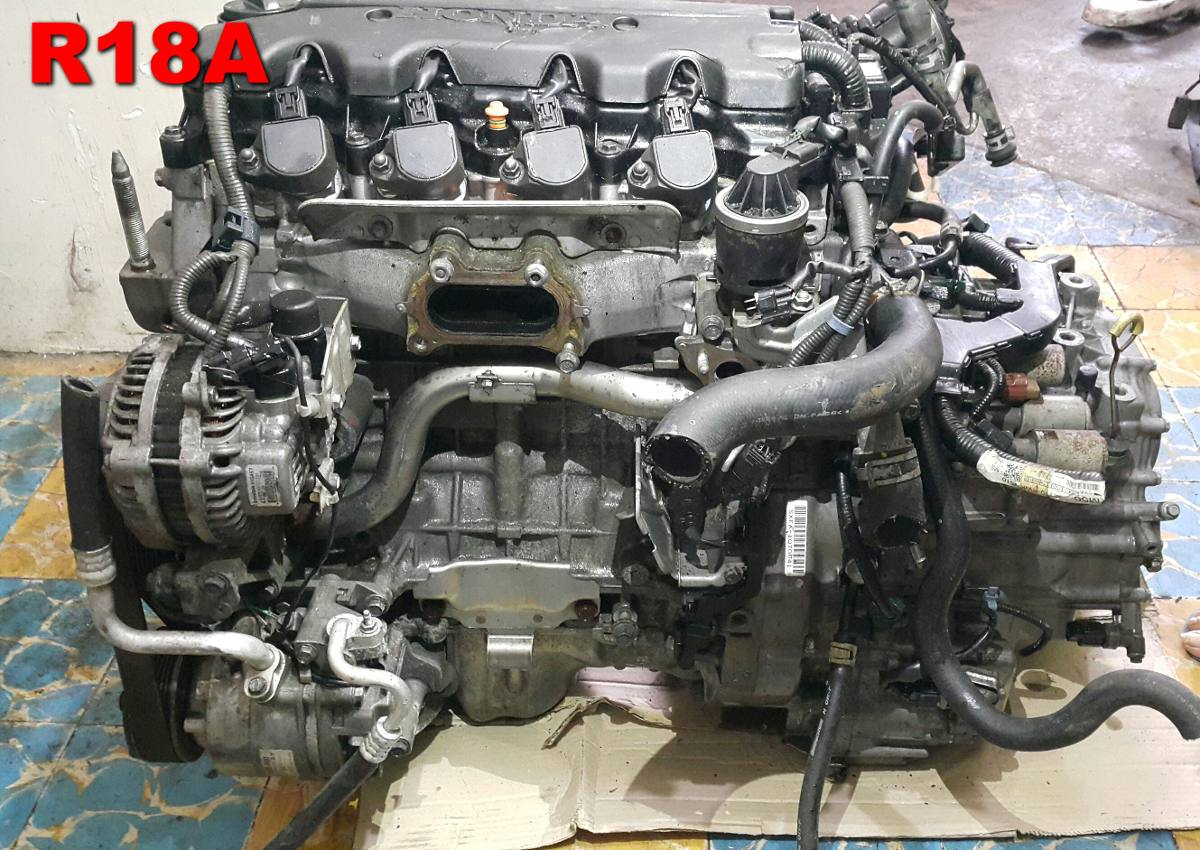 Motor Honda R18a Civic Ex 2006 2011 18 300 00 En