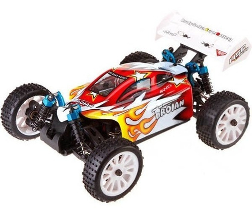 motor hsp 380 brushed rc 1/16  redcat exceed buggy monster