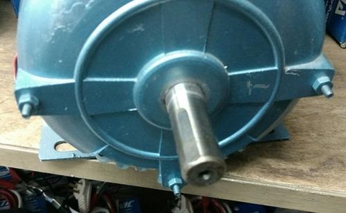 motor industrial monofasico 1 hp - 1425 rpm - trab. continuo