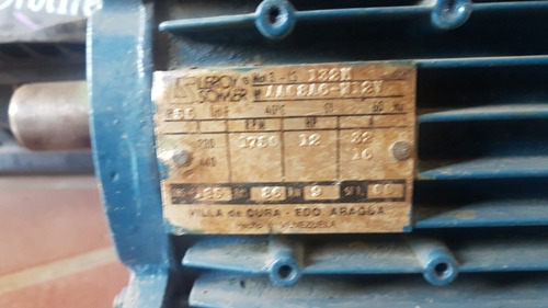 motor industrial trifasico