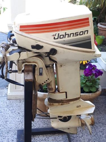 motor johnson 15 hp pocas horas
