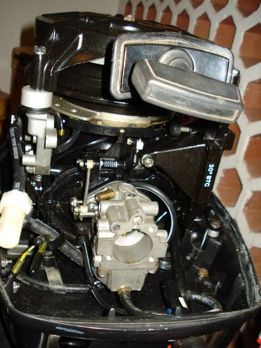 motor johnson 25 hp 95 md. j25reo funcionando todo original!