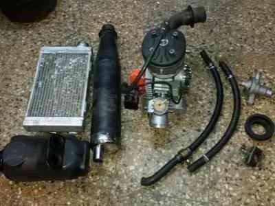 motor karting prd aguatero 125cc.