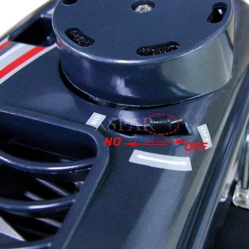 motor lancha fuera de borda 2 tiempos 3.5 hp marca hangkai