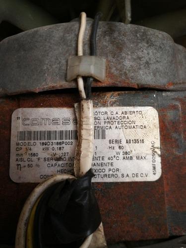 motor lavadora centrales.