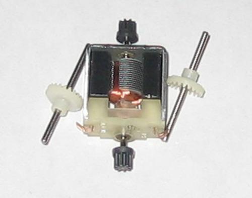 motor mabuchi con piñónes coronas ejes 3/12 volts con carbón