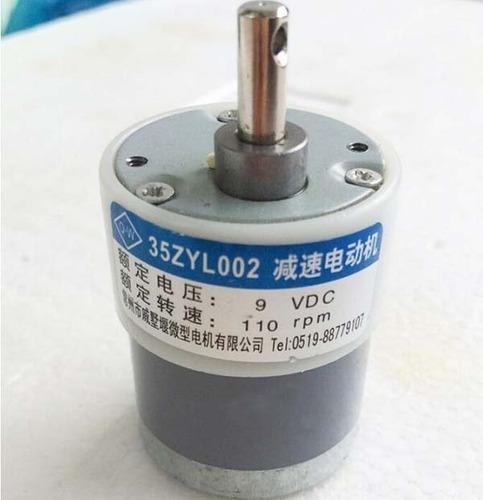 motor maquina contadora billetes 9v 110 y 150 rpm