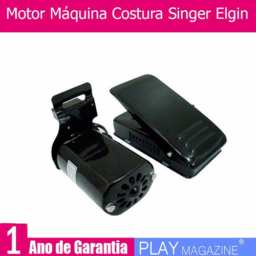 motor máquina costura doméstica serve na singer e elgin 110v