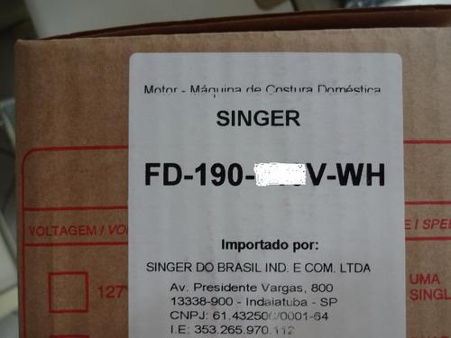 motor máquina costura doméstica singer original complet