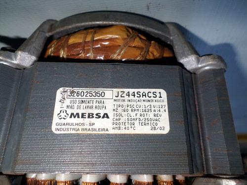 motor  maquina de lava roupa mebsa tipo -psc-cv1/3v 127v