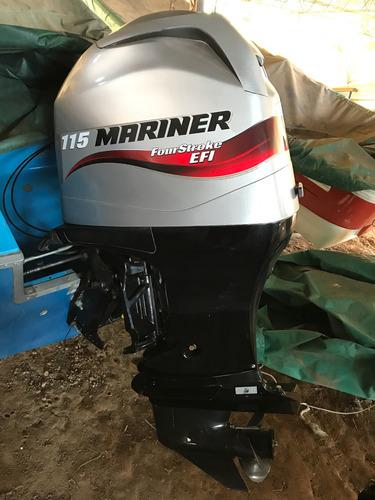 motor mariner 115hp 4t 50hs. 2014