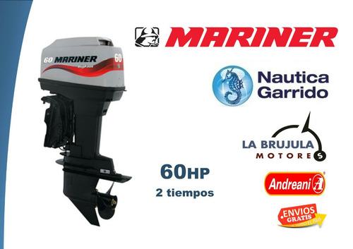 motor mariner 60 hp.2t. consultar precio de contado.