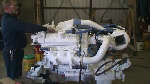 motor marino 6v92 ta de 550 hp