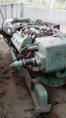 motor marino detroit diesel serie 6l71, sale 6500 usd