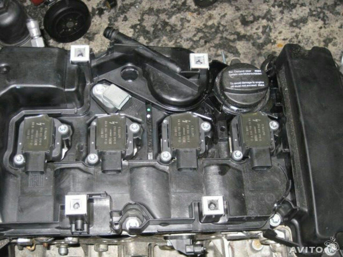 Motor mercedes benz 2 0 c200 c230 50 en mercado for Motor mercedes benz