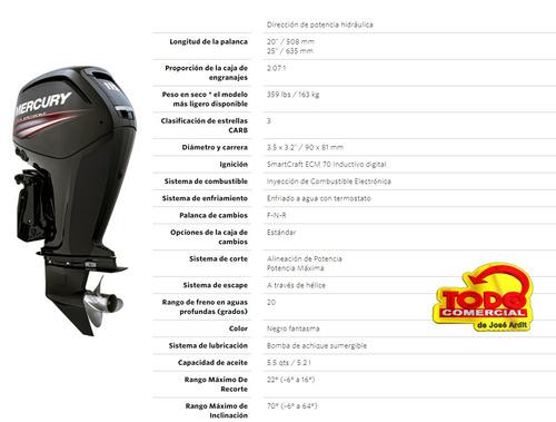 motor mercury 115hp 4 tiempos ct .envio sin cargo