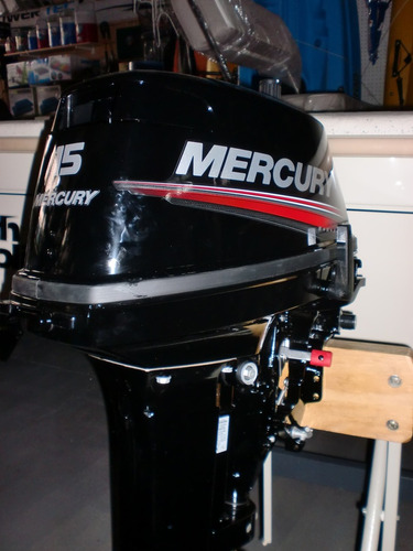 motor mercury 15 hp m  super 2t 0km se paga en pesos quilmes