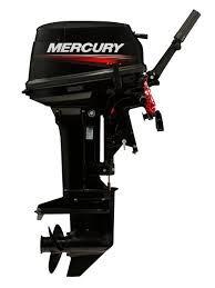 motor mercury 15 hp super 2 tempos novo poddium náutica