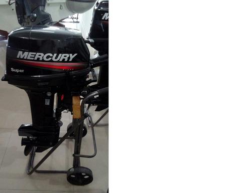 motor mercury 15 hp super 2 tempos zero!