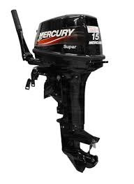 motor mercury 15 m super 2t !!