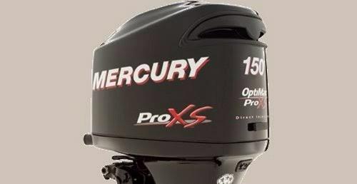 motor mercury 150 pro xs ano 2017 completo, cabos, comando..