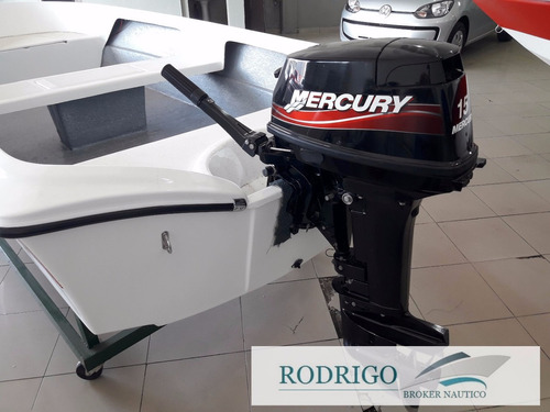 motor mercury 15hp super 2t 2013  oportunidad ..!!
