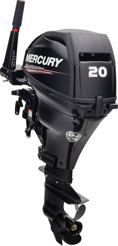 motor mercury 20 hp 4 tempos !