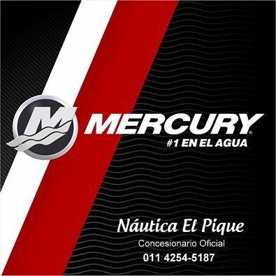 motor mercury 20 hp ms 4t 0 km. consulta promociones!!!