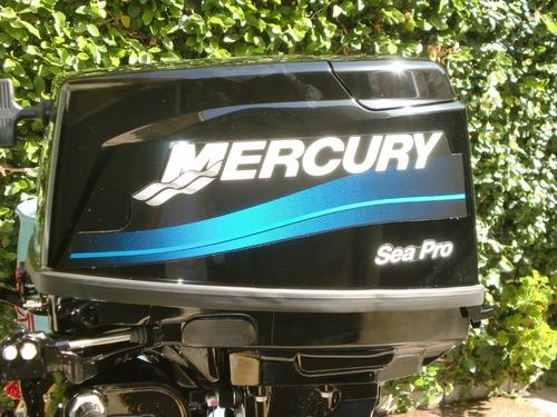 motor mercury 25 hp sea pro 0 km. se paga en pesos!! quilmes