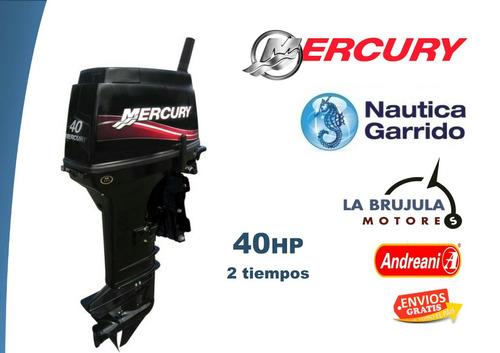 motor mercury 40 hp elo. consultar precio de contado.