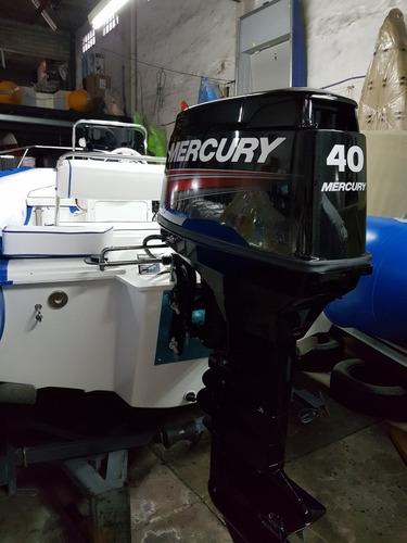 motor mercury 40 hp elo super 2 tiempos 0 km quilmes!